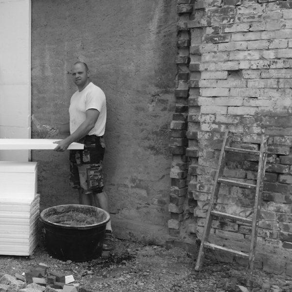 Mauerarbeiten – Außenbereich